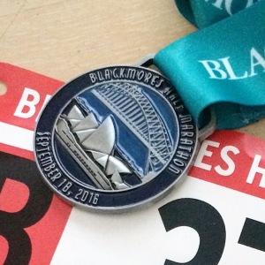 Blackmores Sydney Half Marathon Medal
